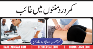 Lower Back Pain Treatment ( Kamar Dard Ka Elaj )