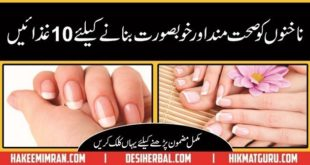 Nakhun ko Khubsurat Bnany Ki Tips ( Nail Care Tips in Urdu & Hindi