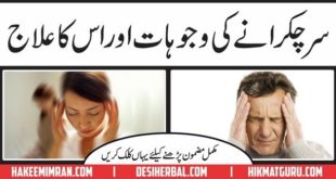 Sir Chakrana ( Vertigo ) Casues & Treatments In Urdu & Hindi