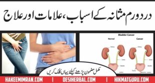 Masana K dard KA Desi Elaj ( Urinary Bladder Pain )