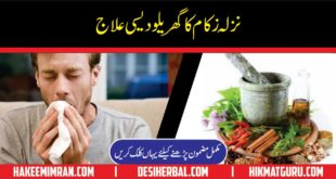 Nazla Zukam ka Totka Gharelu Ilaj Cold Flu Home Remedies 1
