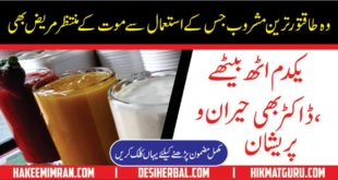 Energy Drink Recipe to Supercharge Your Body Jism Ko Power full Bnany Wala Sharbat