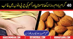 How to Eat Almonds to Lose Weight in urdu Badam Sy Wazan Kam Karna