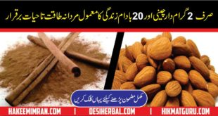 Mardana Kamzori ki Qudrati Dawa (Medicines for Male Sexual Health)