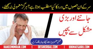 Sar ka Dard aur Ilaj Headache Causes and Treatment in Urdu