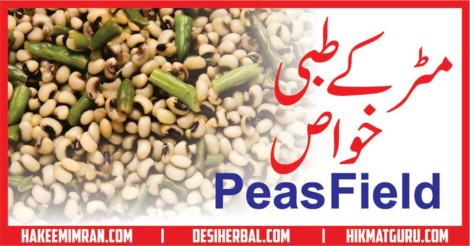 Matar (Peas Field) Benefits in urdu مٹر کے طبعی خواص