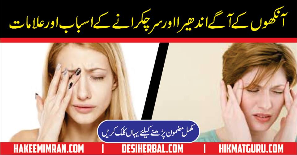 Sar Chukarana Vertigo Headache Urdu Hindi Pakistan India