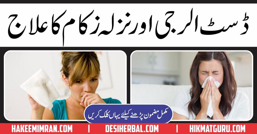 Dust Allergy Treatment in Urdu