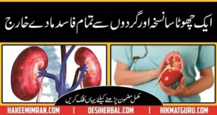 Best Nuskha For Cleansing your Kidneys ( Gurday Ki Safai ) in Urdu