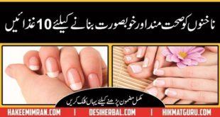 Nakhun ko Khubsurat Bnany Ki Tips ( Nail Care Tips in Urdu & Hindi