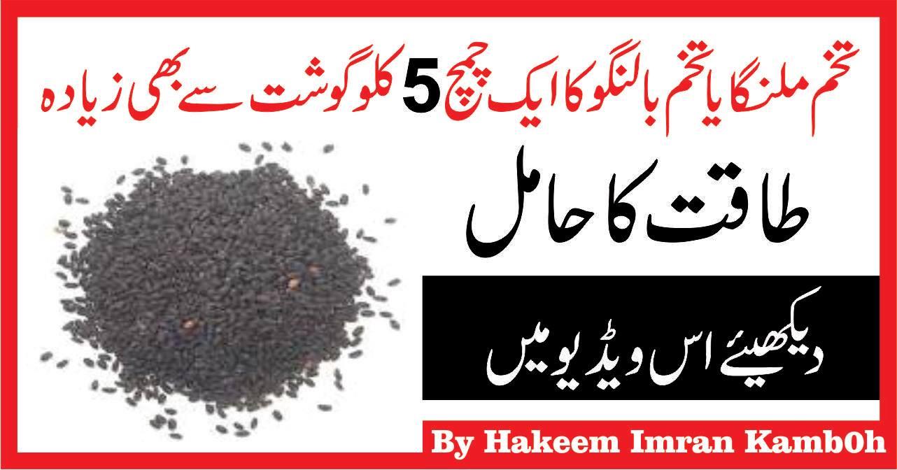 Tukhm e Balanga Benefits & Sharbat Recipe ,Chia Seeds Benefits in Urdu Hindi