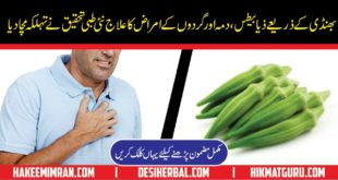 Health Benefit of Lady Finger or Okra or Bhindi Kay Faidy