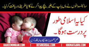Test Tube Baby Is It Allowed In Islam in Urdu