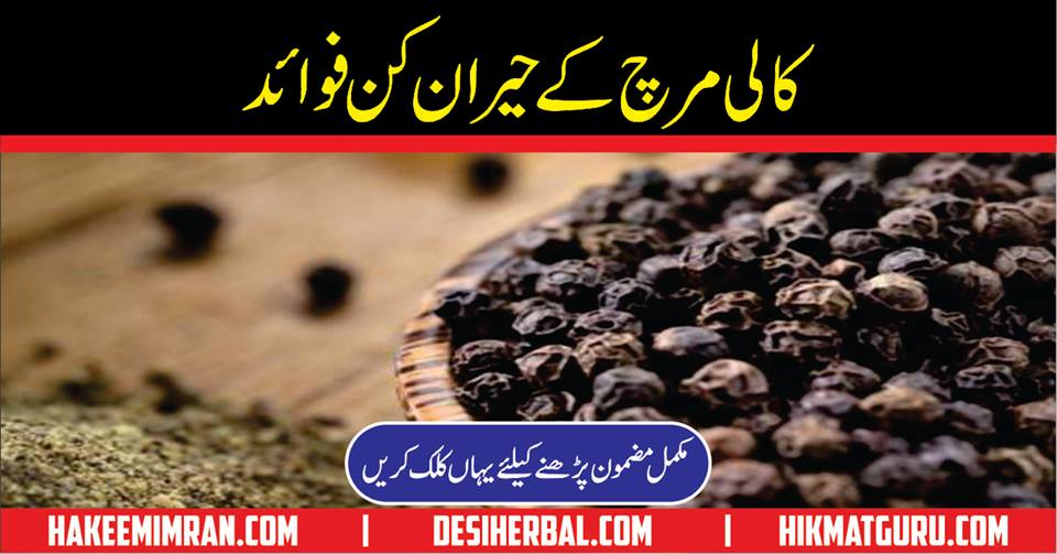 Kali Mirch ke Fayde Black Pepper Benefits Fawaid Urdu Hindi