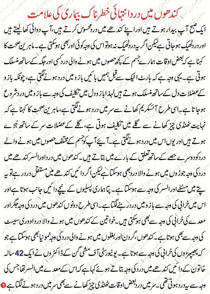 Kandhon Ke Dard Ka Ilaj Treatment For Shoulder Pain In Urdu Hakeem Imran