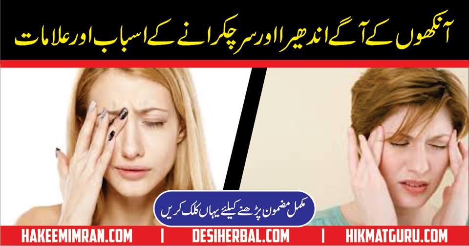 Sar Chukarana Vertigo Headache Urdu Hindi Pakistan India