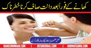 Teeth Care Tips Danton Ki Hifazat